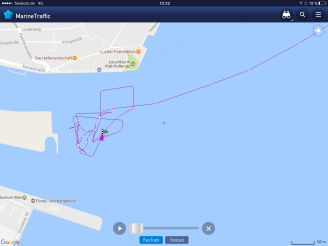MArineTraffic Kiel