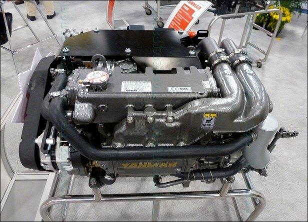 Yanmar-Marine-Diesel-Engines-4JH-110-Four-Cylinder
